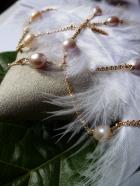 Sautoir Perles Pink Pearl